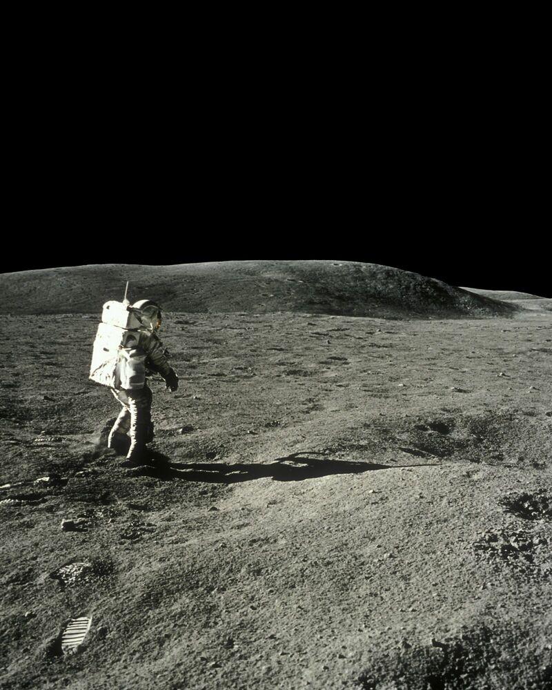 Photographie Charles Duke, Apollo 16 -  CIEL & ESPACE PHOTOS - Tableau photo