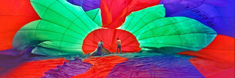 Fotografia Balloon, 1977 -  COLORAMA Display Collection - Bob Schlegel - Pittura di immagini