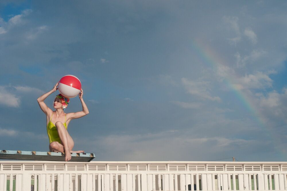 Photograph OVER THE RAINBOW II - CRISTINA CORAL - Picture painting