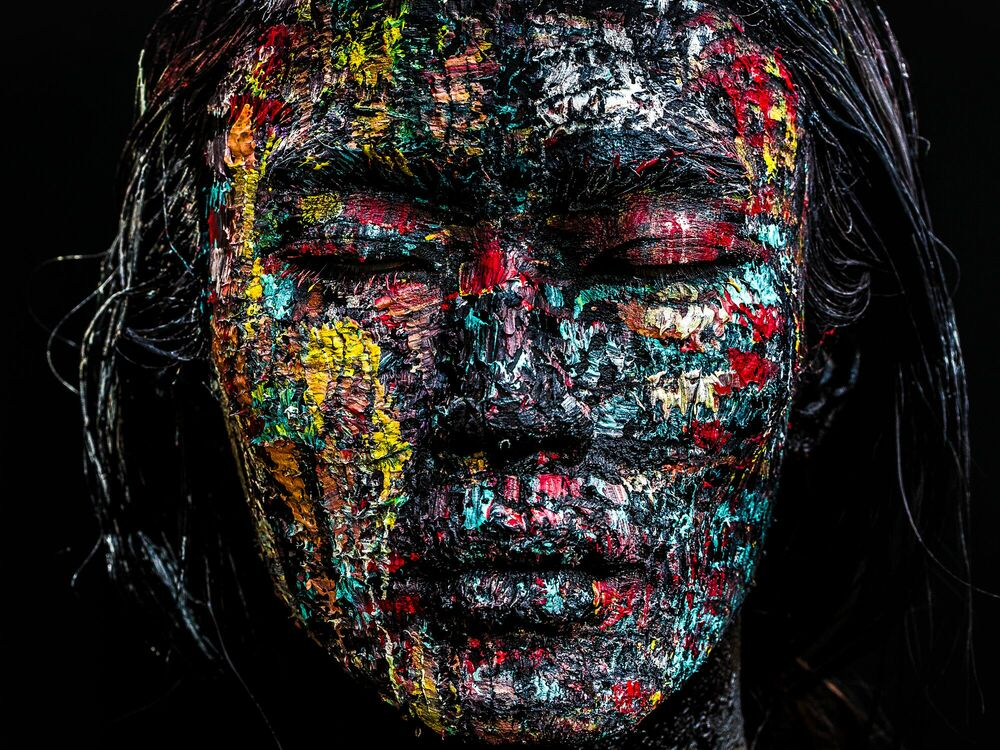 Fotografia KAMELEON - DAMIEN DUFRESNE - Pittura di immagini