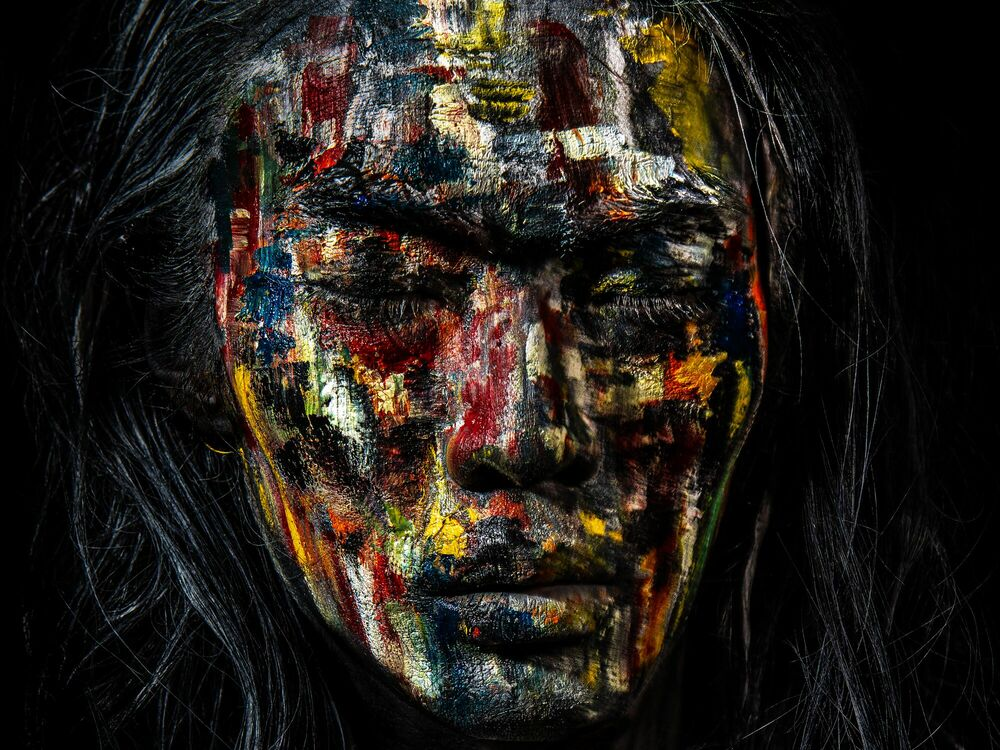 Photograph WARRIOR - DAMIEN DUFRESNE - Picture painting