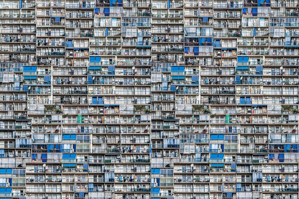 Photograph PUBLIC HOUSING, THE FUTURE - DANIELE TACCHINARDI - Picture painting
