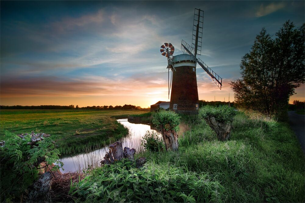 Photograph Horsey Wind Pump -  DAVE - Picture painting