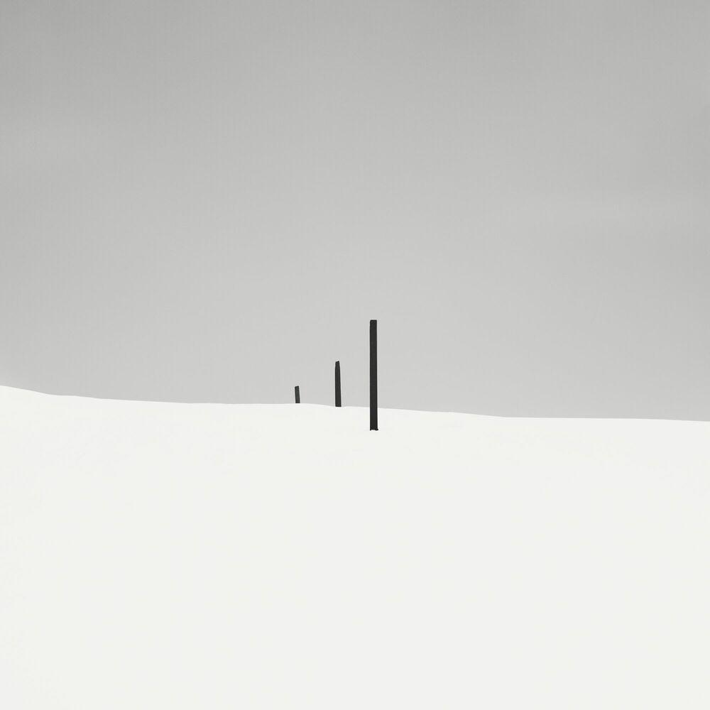 Fotografie Three Sticks - EBRU SIDAR - Bildermalerei