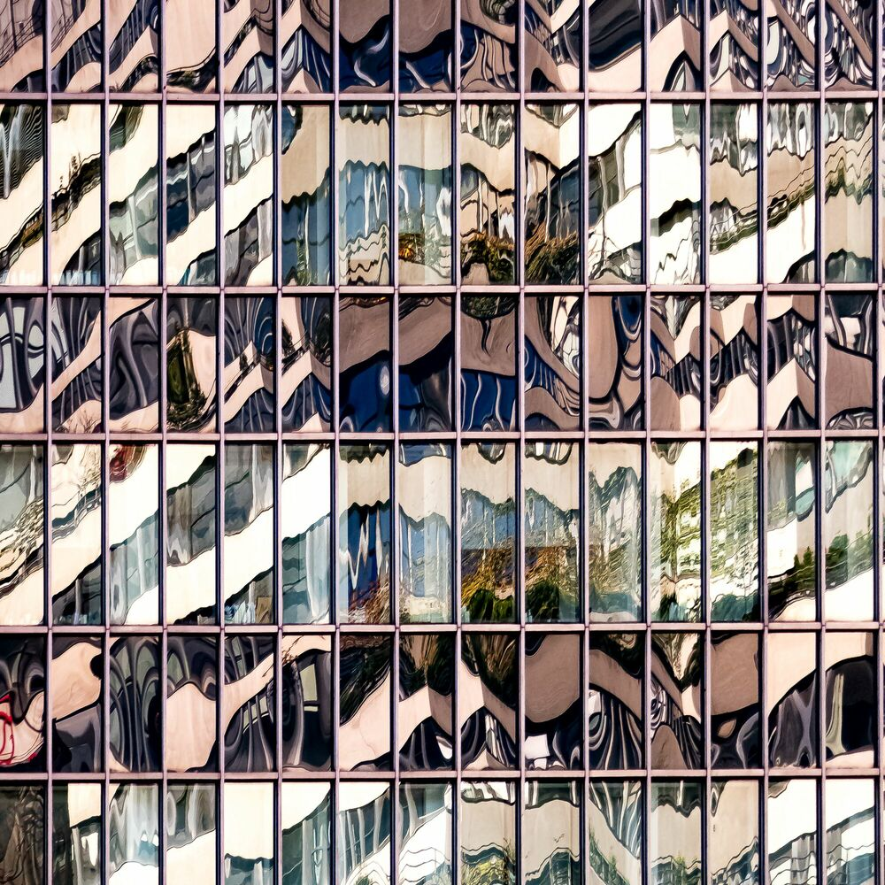 Photograph POETIC BUILDINGS 2 - ERIC LIGNIER - Picture painting