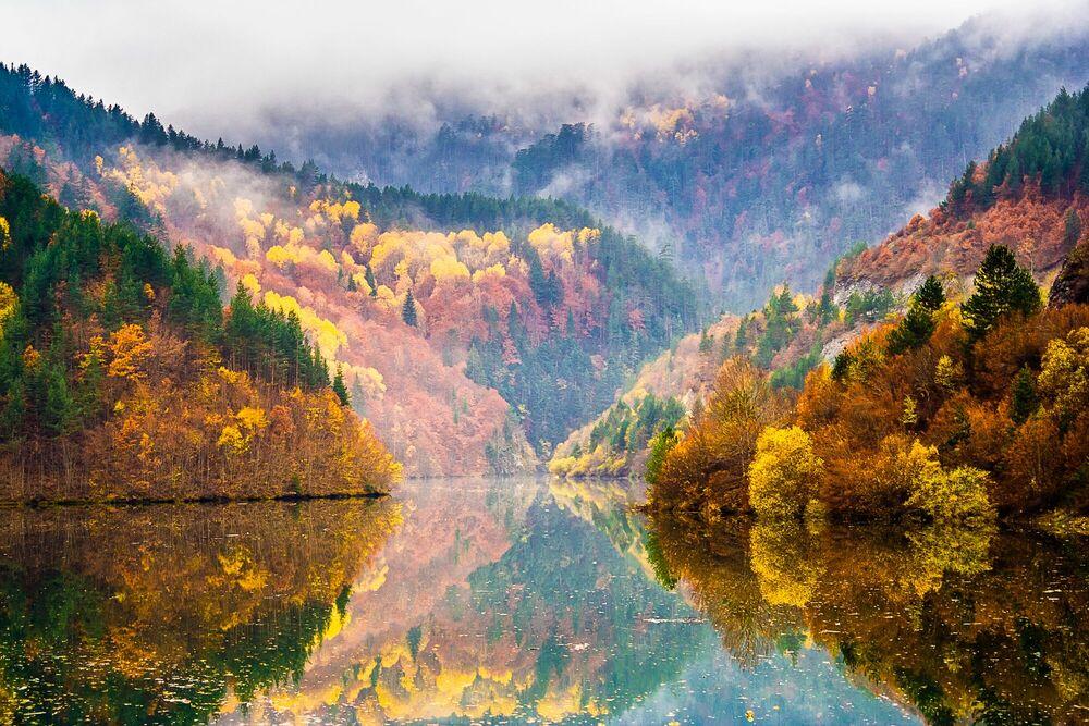 Photographie Colorful Lake - EVGENI DINEV - Tableau photo