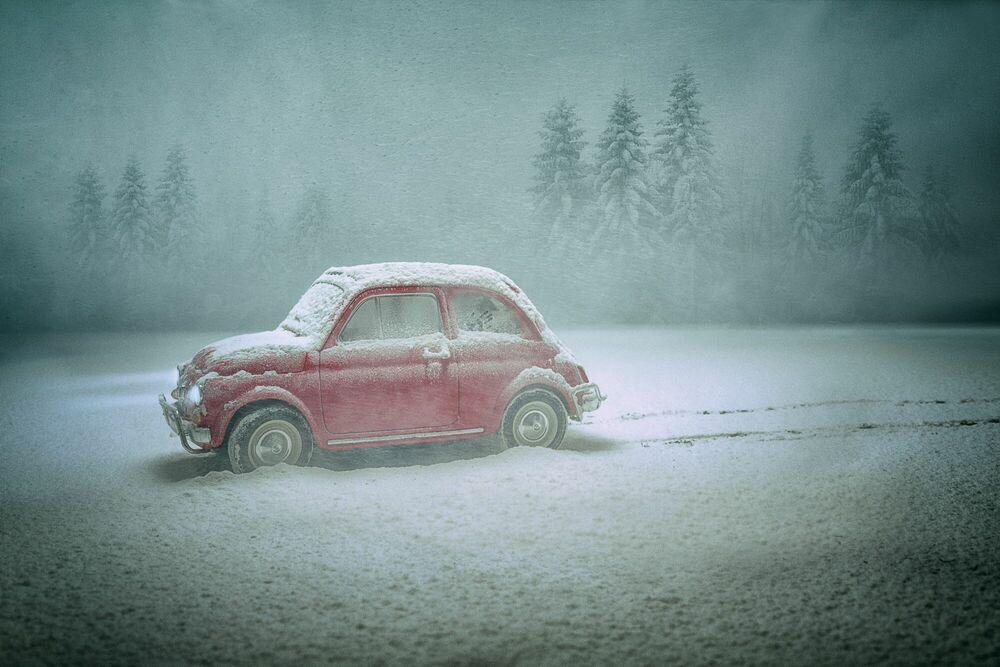 Fotografia THE LOVE CAR - FELIX HERNANDEZ DREAMOGRAPHY - Pittura di immagini