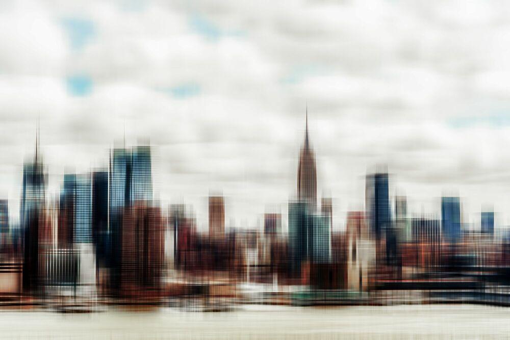 Photograph Hyperdrive Manhattan-33 - FLORIAN MULLER - Picture painting
