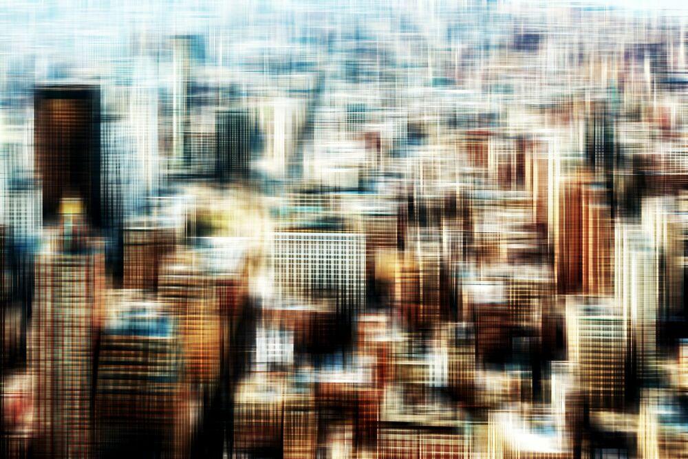Photographie Hyperdrive Manhattan-34 - FLORIAN MULLER - Tableau photo
