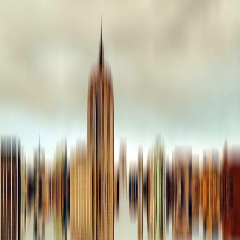 Kunstfoto TRANSITUS MANHATTAN 10 - FLORIAN MULLER - Foto schilderij