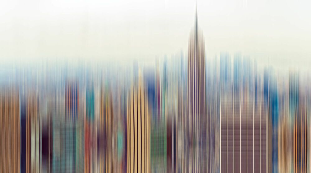 Fotografia TRANSITUS MANHATTAN 7 - FLORIAN MULLER - Pittura di immagini