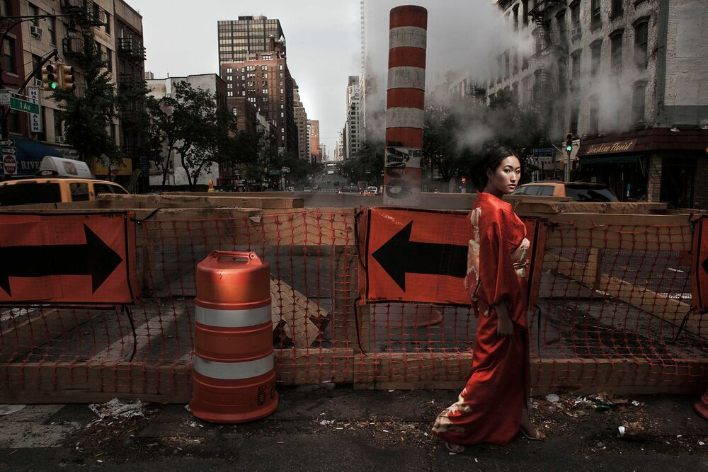 Photographie 5th avenue geisha -  FORMENTO+FORMENTO - Tableau photo