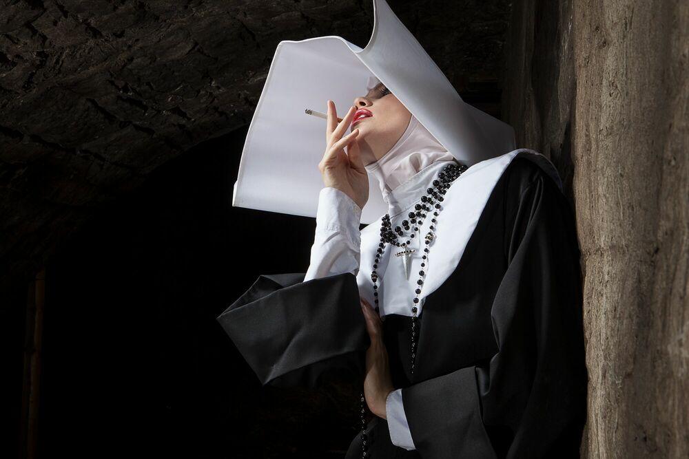 Fotografía SMOKE BREAK CINECITTA -  FORMENTO+FORMENTO - Cuadro de pintura