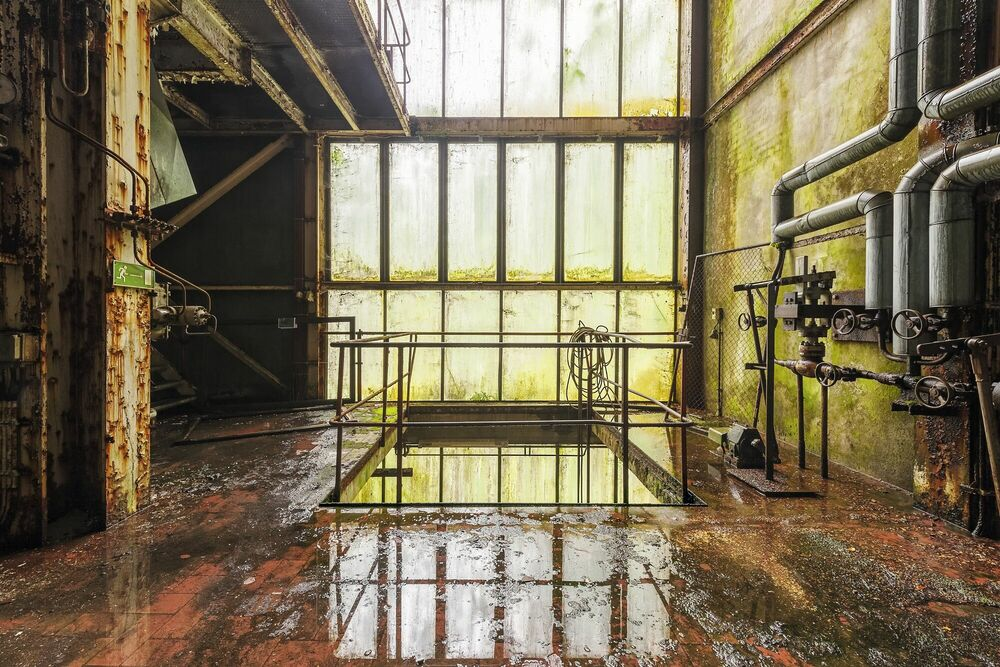 Fotografie DARK WATER FOR GREEN MEMORIES - FRANCIS  MESLET - Bildermalerei