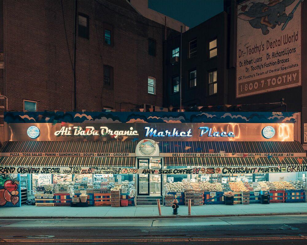 Fotografia Ali Baba organic market place NY - FRANCK BOHBOT STUDIO - Pittura di immagini