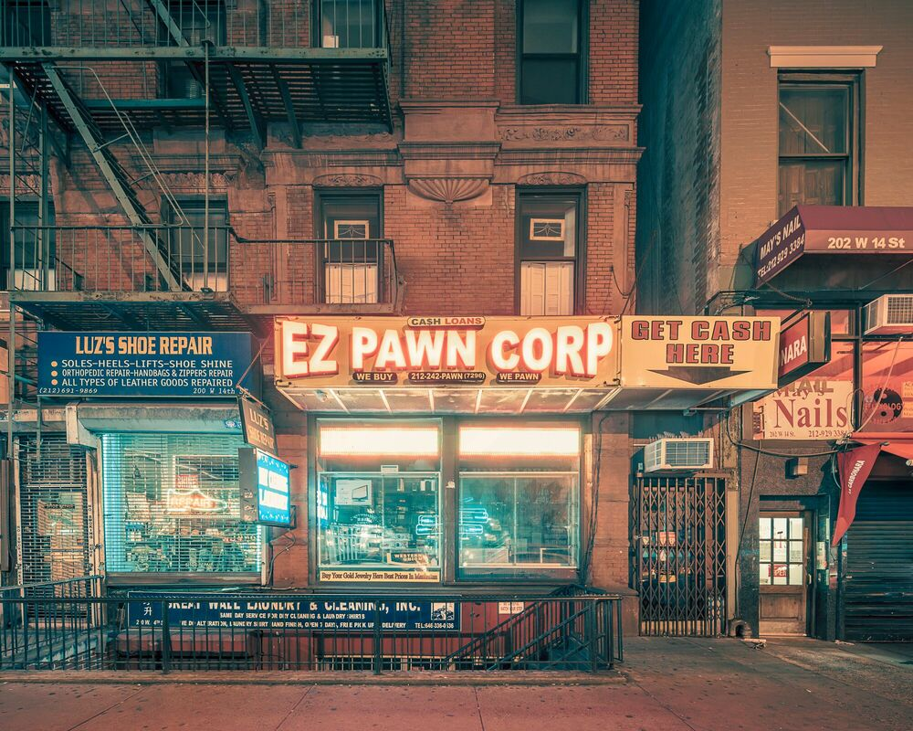 Fotografie Ez Pawn Corp, NYC - FRANCK BOHBOT STUDIO - Bildermalerei