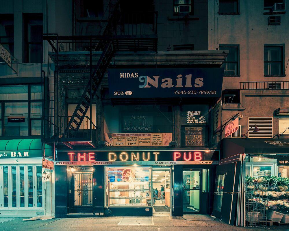 Fotografie The Donut pub NYC - FRANCK BOHBOT STUDIO - Bildermalerei