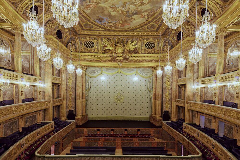 Photograph Opéra de Versailles #1 - FRANCK BOHBOT STUDIO - Picture painting