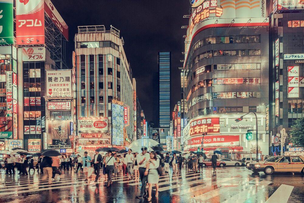 Photograph SHINJUKU TOKYO - FRANCK BOHBOT STUDIO - Picture painting