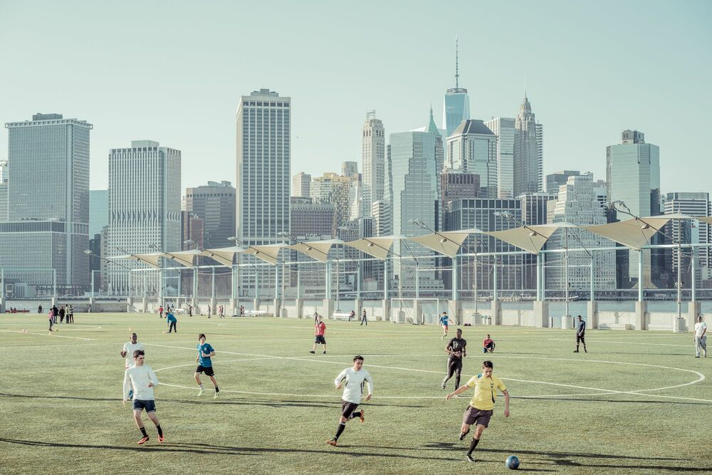 Photograph SOCCER BROOKLYN - FRANCK BOHBOT STUDIO - Picture painting