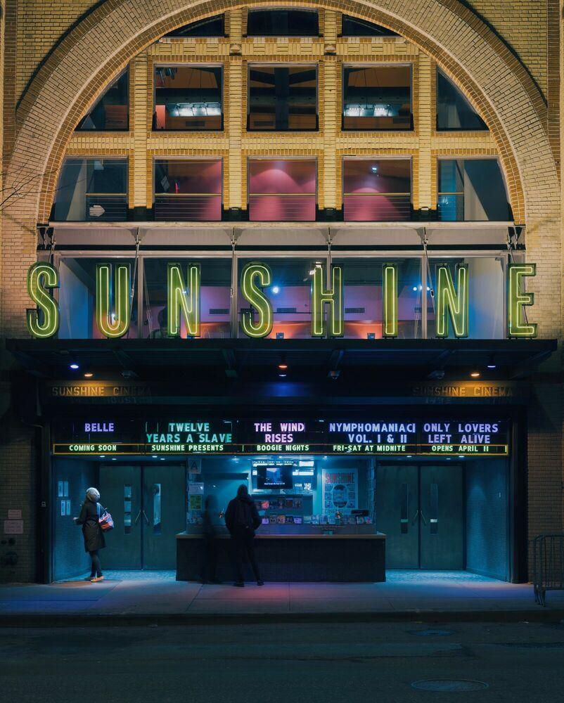 Photograph SUNSHINE CINEMA NYC - FRANCK BOHBOT STUDIO - Picture painting