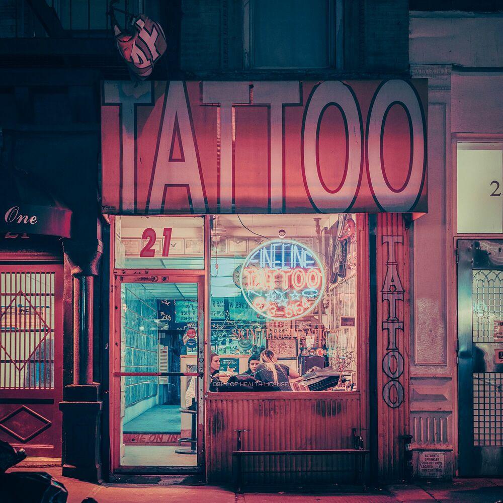 Fotografie TATTOO 21 NY - FRANCK BOHBOT STUDIO - Bildermalerei