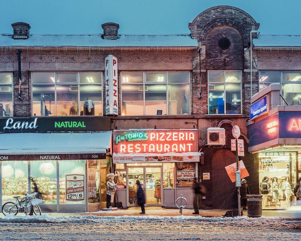 Photographie The Antonio's Pizzeria, NYC - FRANCK BOHBOT STUDIO - Tableau photo