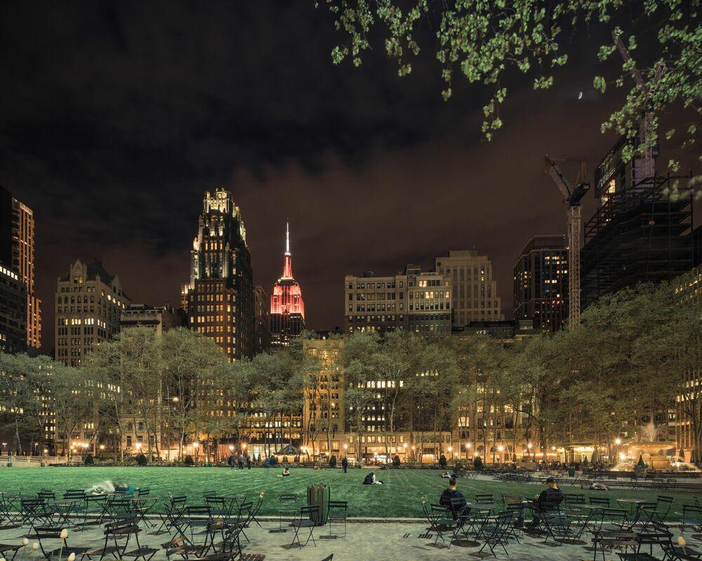 Photographie The Bryant Park NY - FRANCK BOHBOT STUDIO - Tableau photo