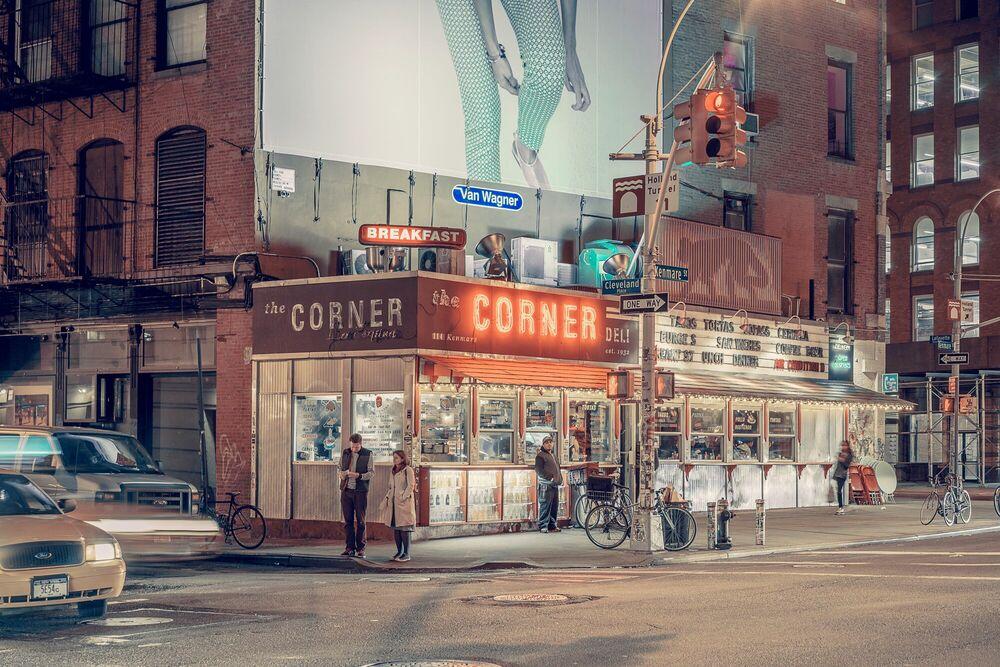 Fotografie The Corner Deli, NYC - FRANCK BOHBOT STUDIO - Bildermalerei