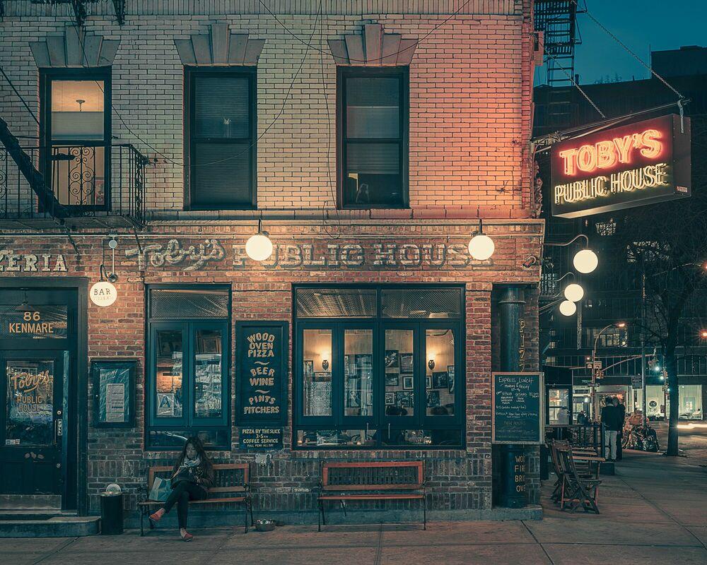Fotografia Toby's public house NY - FRANCK BOHBOT STUDIO - Pittura di immagini