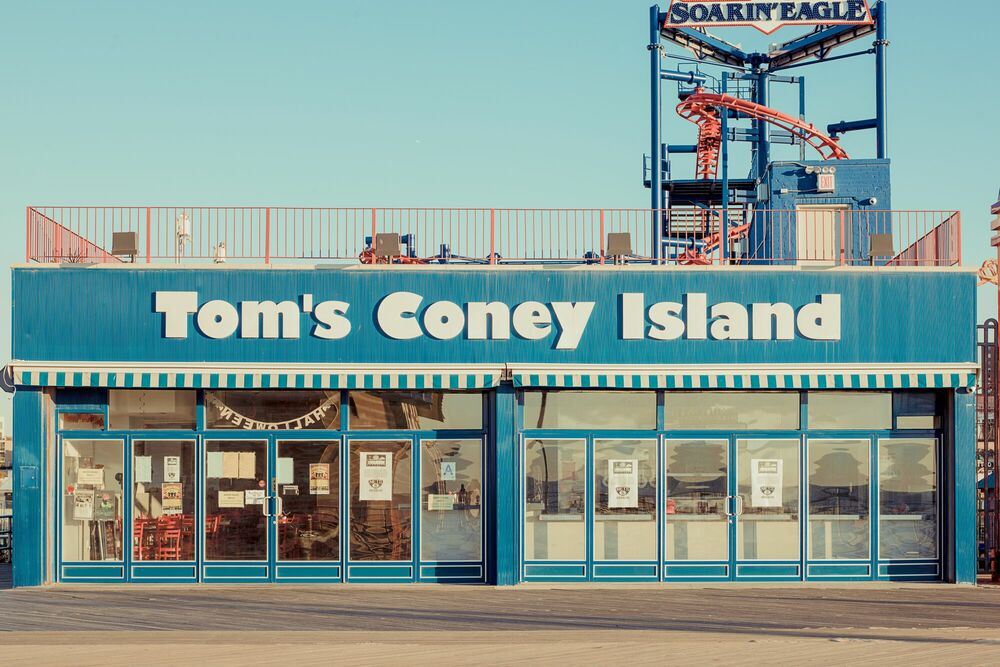 Fotografie TOM'S CONEY ISLAND - FRANCK BOHBOT STUDIO - Bildermalerei