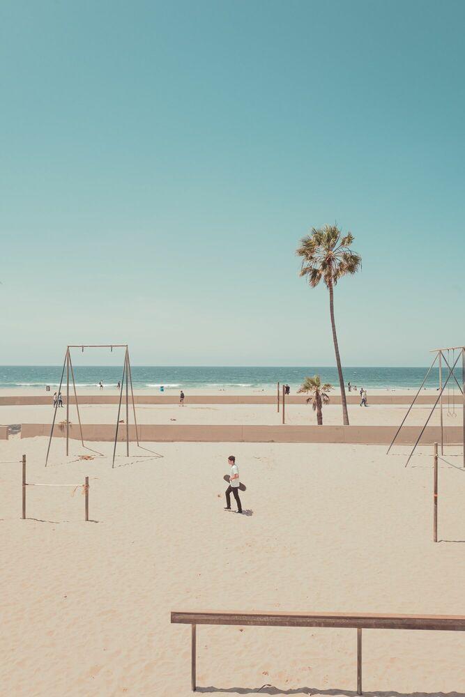 Photograph VENICE BEACH LA - FRANCK BOHBOT STUDIO - Picture painting