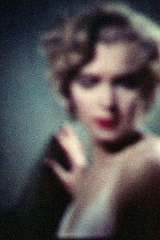 Kunstfoto Marilyn Monroe Niagara - FRANÇOIS FONTAINE - Foto schilderij