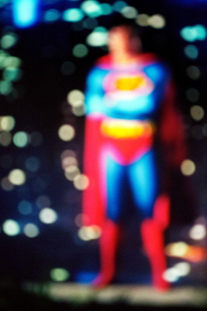 Photograph SUPERMAN 2 - FRANÇOIS FONTAINE - Picture painting