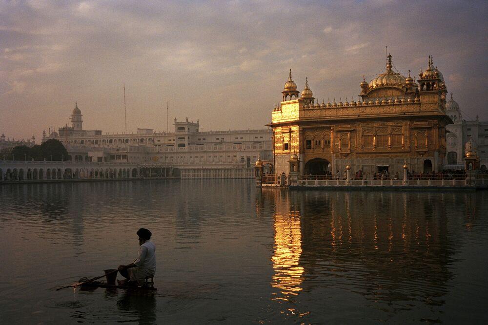 Photographie Temple d'Or d'Amritsar - FRANÇOIS FONTAINE - Tableau photo