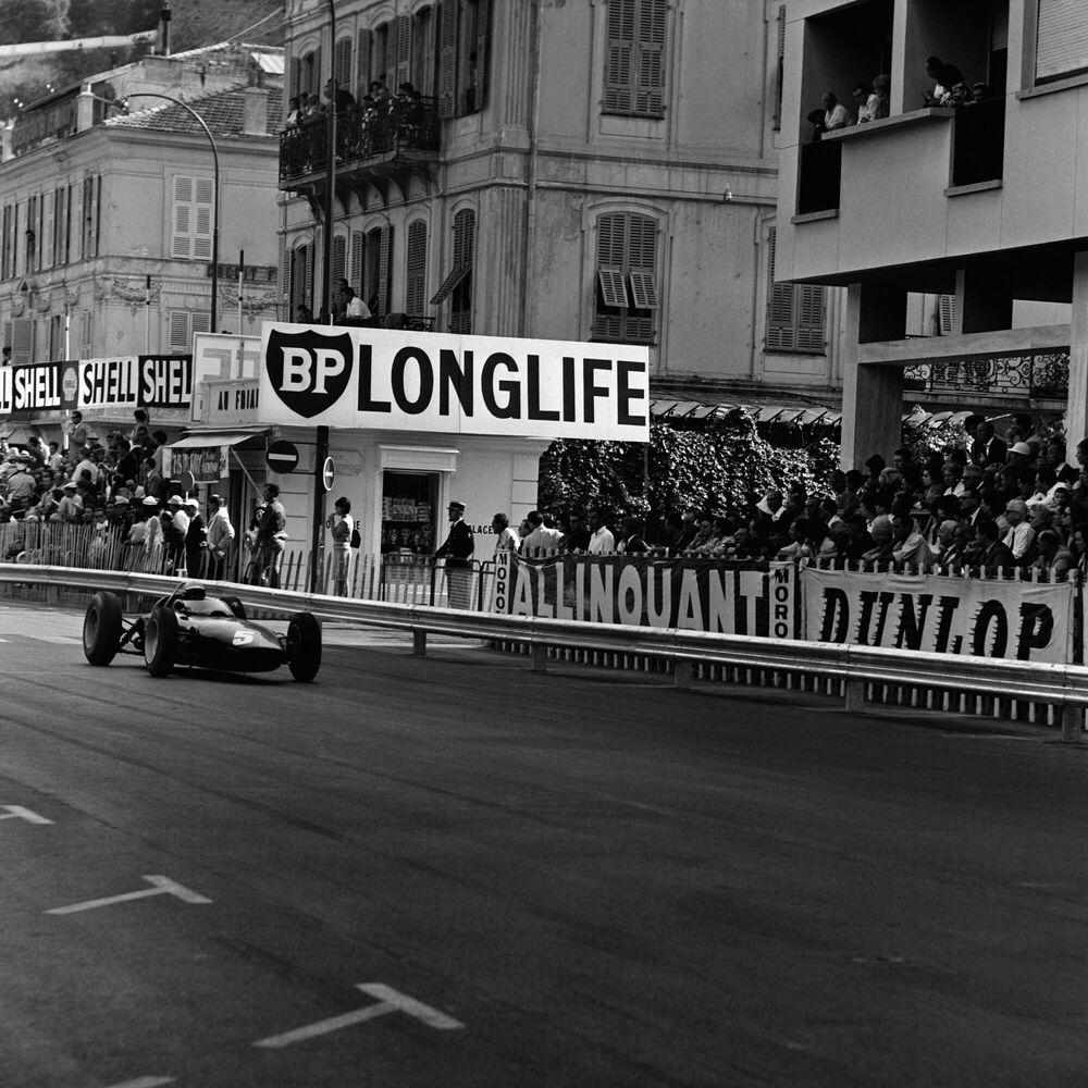 Photographie MONACO GRAND PRIX, 26 MAY 1963 -  GAMMA AGENCY - Tableau photo