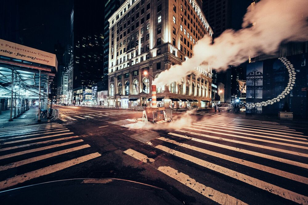 Fotografie DESERT IN NEW YORK 5TH AVENUE - GENARO BARDY - Bildermalerei