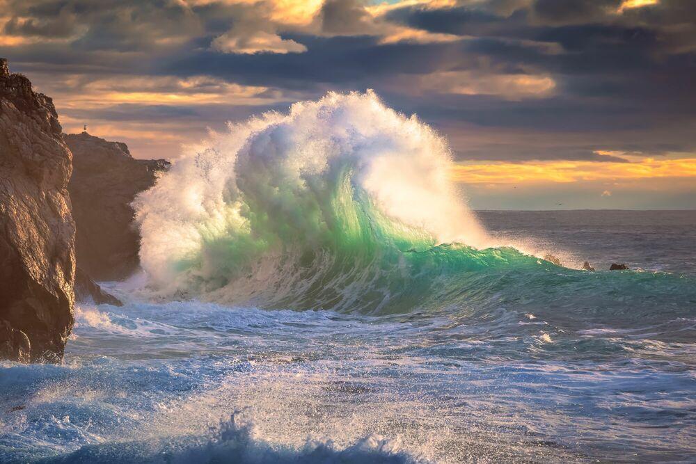 Fotografie ROUGH SEA 11 - GIOVANNI ALLIEVI - Bildermalerei