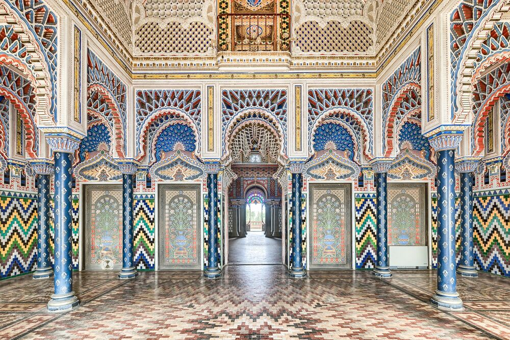 Photographie THE MOORISH PALACE III - GREGOIRE CACHEMAILLE - Tableau photo