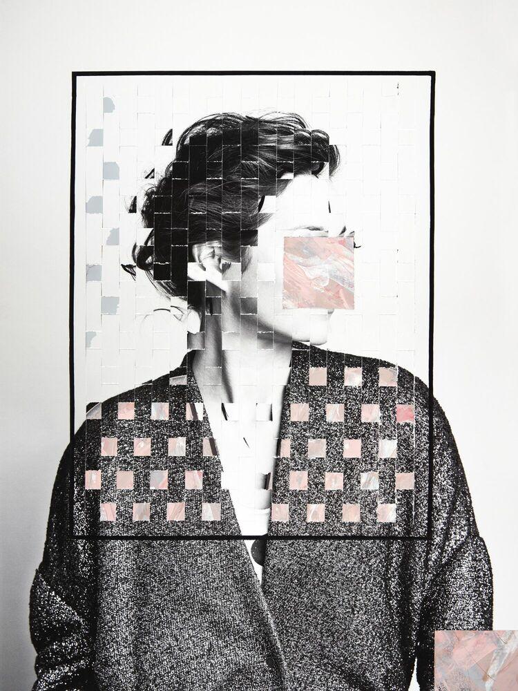 Fotografie LES PETITS CARRES -  GUERIN X K - Bildermalerei