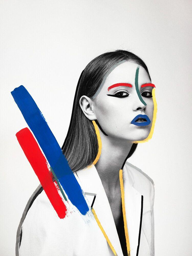 Fotografia POP SIXTIES -  GUERIN X K - Pittura di immagini