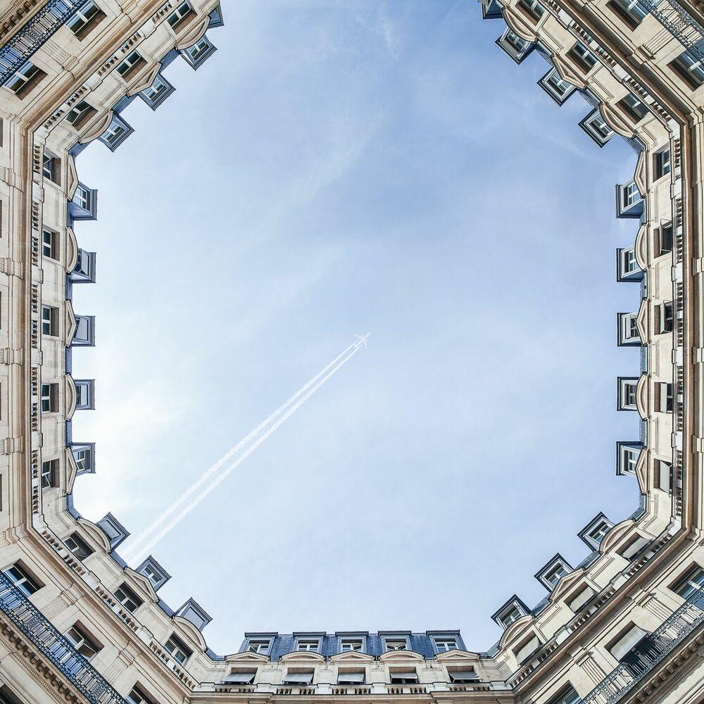 Fotografia PARISIAN SKY - GUILLAUME DUTREIX - Pittura di immagini