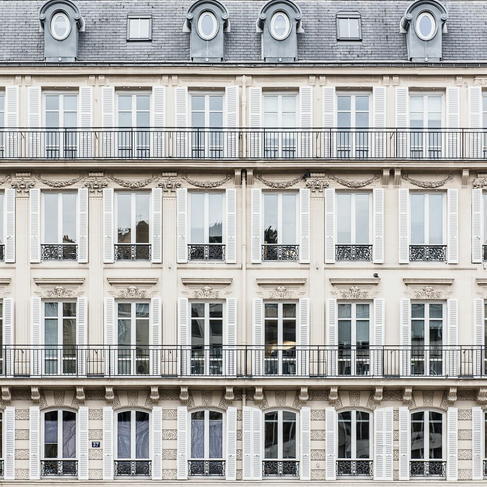 Fotografie THOSE PARISIAN SQUARES - GUILLAUME DUTREIX - Bildermalerei