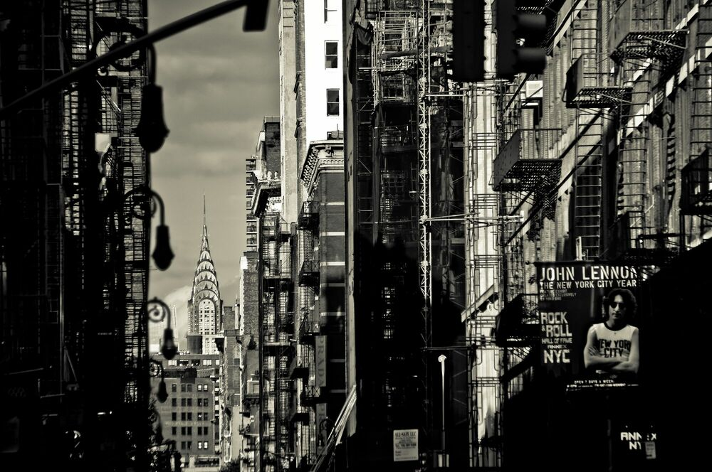 Photographie Chrysler in Soho - GUILLAUME GAUDET - Tableau photo