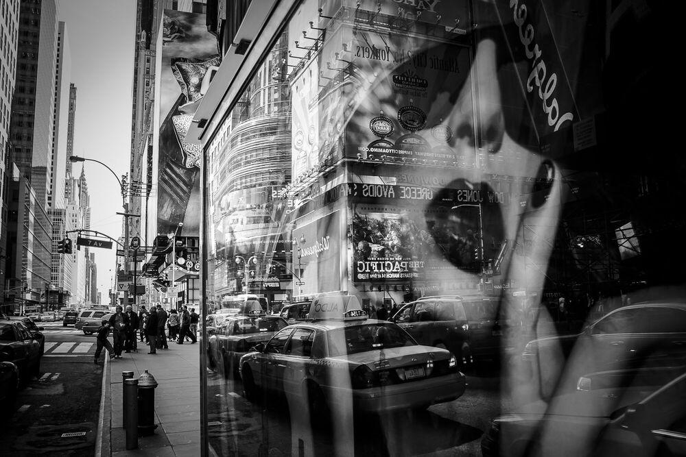 Photographie Times Square Reflection - GUILLAUME GAUDET - Tableau photo