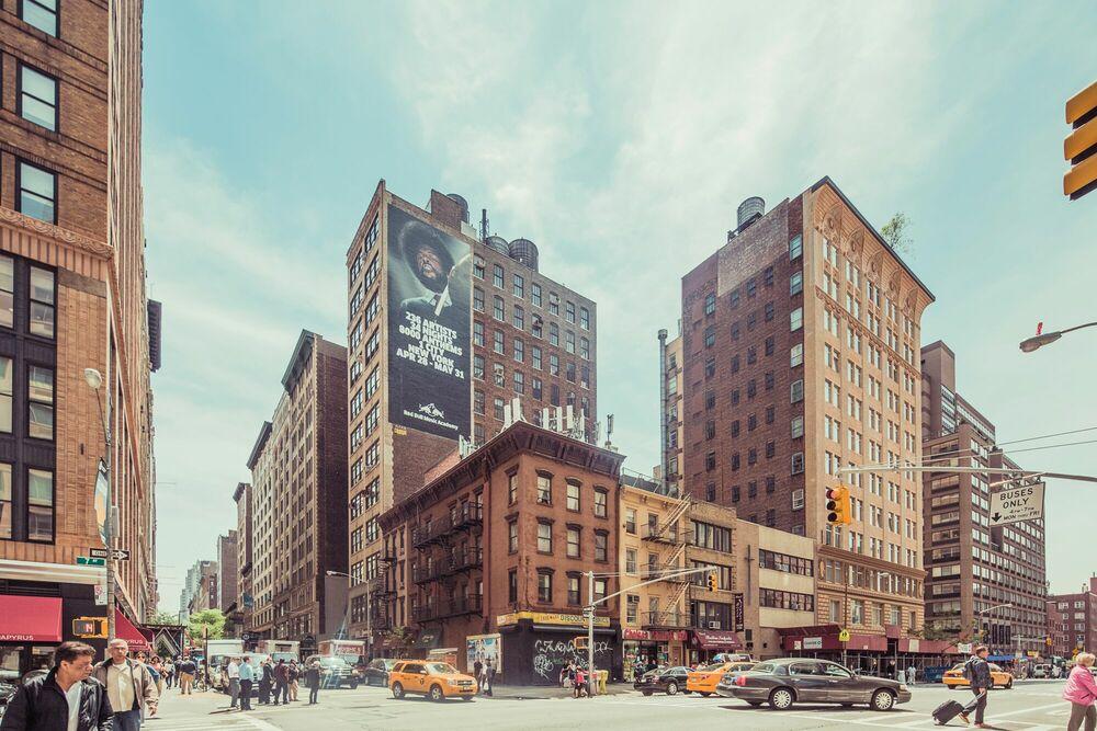 Fotografia NOON TIME CHELSEA, MANHATTAN -  JACK AND LUNA - Pittura di immagini