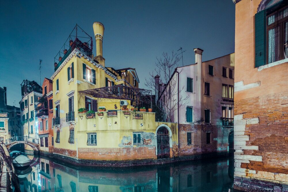 Photographie TIMELESS NIGHT IN VENICE -  JACK AND LUNA - Tableau photo