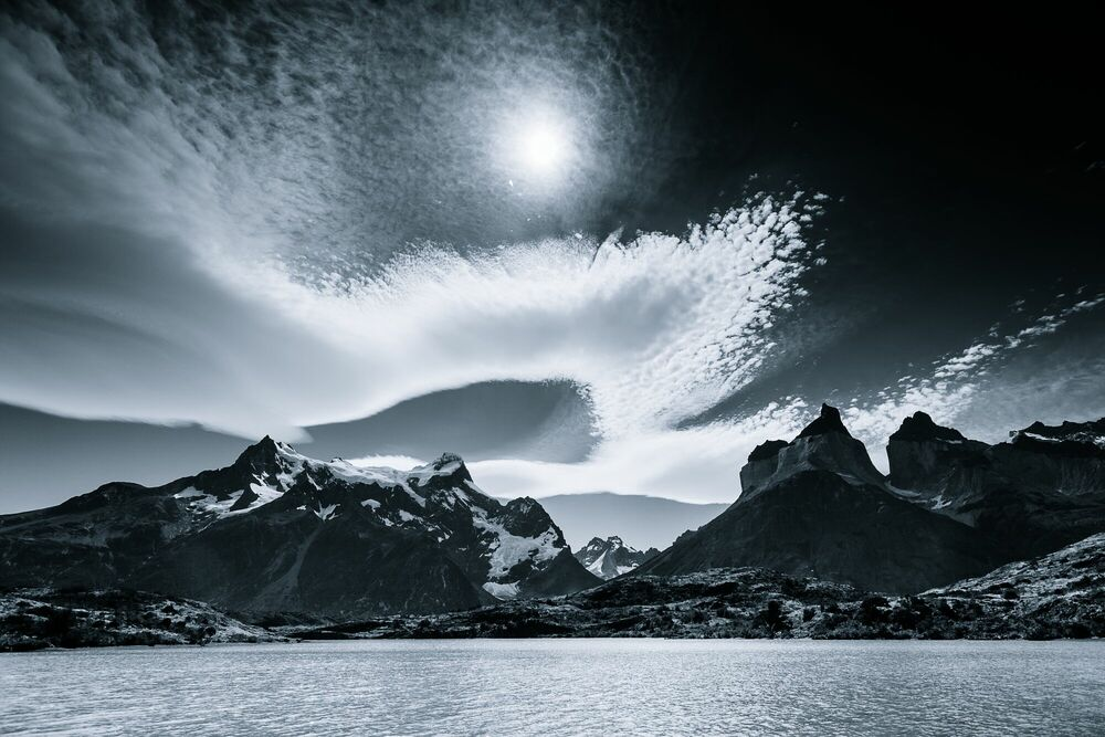 Photographie Clouds of Patagonia - JAKUB POLOMSKI - Tableau photo