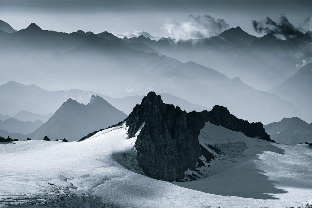 Fotografia Mountains of Mist - JAKUB POLOMSKI - Pittura di immagini