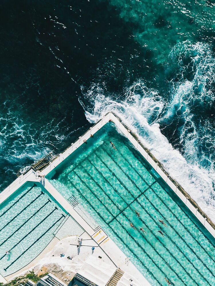 Fotografia Bondi Icebergs - Javi Lorbada - Pittura di immagini